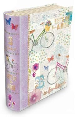 Small Bicycle Let's Go for a Ride Book Box
