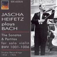 Jascha Heifetz Plays Bach
