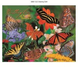 Impact Photographics IMP52821CLC Cleaning Cloth Butterflies