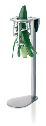 Paderno World Cuisine Upright Cucumber/Zucchini Peeler