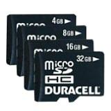 Duracell DU-2IN1-32G-R 32 GB MicroSD High Capacity (microSDHC) - 1 Card