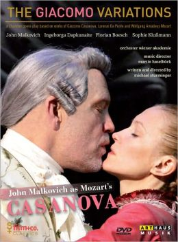 The Giacomo Variations: John Malkovich as Mozart's Casanova