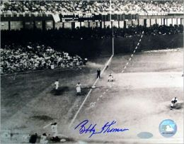 Autographed Bobby Thomson, Shot Heard Round the World 8x10 Photograph