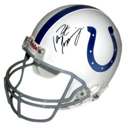 Indianapolis Colts, Autographed Peyton Manning Authentic Full Size Helmet