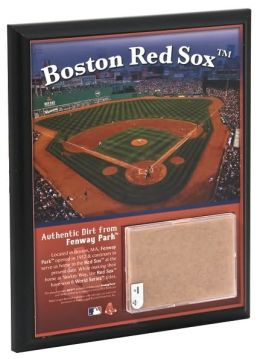 Fenway Park 8x10 Plaque with Game Used Dirt