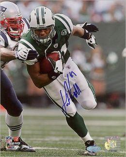 New York Jets, Autographed Dustin Keller Run after Catch vs Patriots Vertical 8x10 Photograph