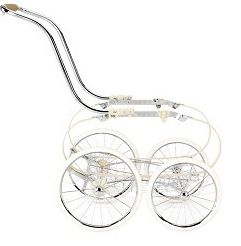 2011 Balestrino Frame with basket - Chrome/Ivory