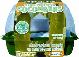 Grow Your Own Cucumbers Sprout n' Grow Edible Greenhouse