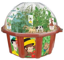 Curious George's Outrageous Farm