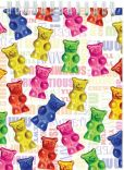 Product Image. Title: Gummy Bear Lenticular Note Pad
