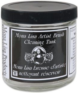 Mona Lisa Artist Brush Cleaning Tank-16 ounces