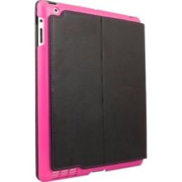 ifrogz IPAD2-SUM-PNK Carrying Case (Folio) for iPad - Black, Pink