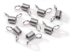 Mini Bead Stopper 8/Pkg-Metal