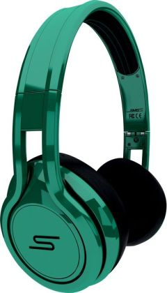 STREET by 50 On-Ear Wired Headphones-Green