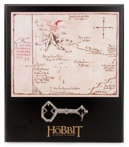 The Hobbit Thorin's Key & Map