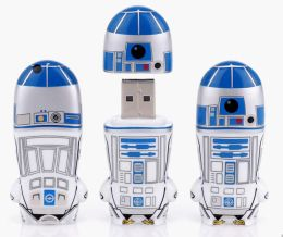 Mimoco Star Wars R2-D2 MIMOBOT USB Flash Drive - 4GB