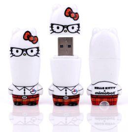 4GB Hello Kitty Nerd Mimobot designer USB flash drive