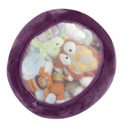 Boon, Inc. Stuffed Animal Storage Bag, Grape