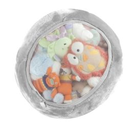 Boon, Inc. Stuffed Animal Storage Bag, Gray