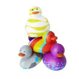 Boon, Inc. Odd Ducks Multicolor Purple, 4 Pack Assorted