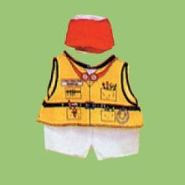 Dexter DEX 208 - Construction Doll Costume