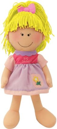 Big Sister Blonde 14 inch Plush Doll