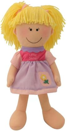 Little Sister Blonde 14 inch Plush Doll