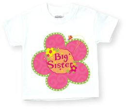 Big Sister Flower T Shirt Size: XXS