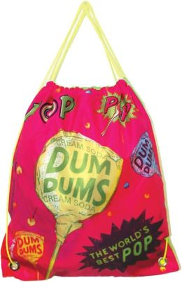 Dum Dums Candy Drawstring Backpack