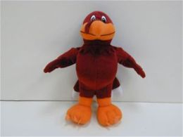 TeamHeads DJ07-80065 Virginia Tech 10 Inch Plush