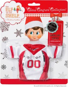 The Elf on the Shelf Claus Couture Game Day Jersey