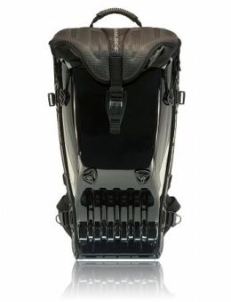 Boblbee 303015 BOBLBEE Megalopolis-Aero Hard Shell Backpack Darth-Glossy Black