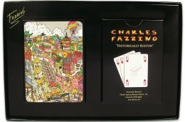 BOSTON- Historical Playing Cards Fazzino (B&N Exclusive)