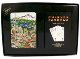 SEATTLE Hello Playing Cards Fazzino (B&N Exclusive)