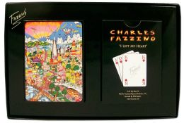 SAN FRANSICO I Left My Heart Playing Cards Fazzino (B&N Exclusive)