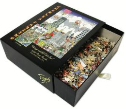 CHICAGO- And All That Jazz Fazzino 1000 Piece Puzzle (B&N Exclusive)