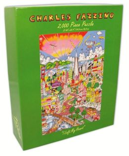 SAN FRANCISCO- I Left My Heart-Fazzino 2000 Piece Puzzle (B&N Exclusive)