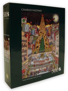 Charles Fazzino That Holiday Nite in NYC 500 Piece Puzzle