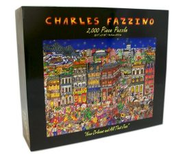 NEW ORLEANS and All That Jazz Fazzino 2,000 Puzzle - (B&N Exclusive)