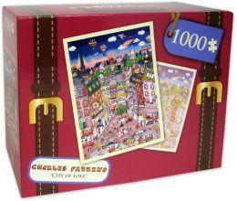 1,000 Pc Puzzle - City Of Love - Charles Fazzino