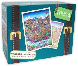 1,000 Pc Puzzle - Touch Down In London Town - Charles Fazzino