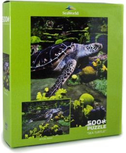 500 Piece Puzzle - Sea Turtle - Sea World