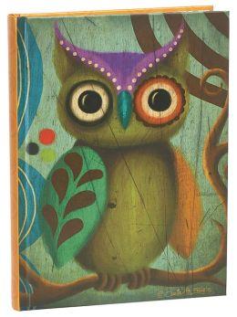 Charles Zabarte Owl Journal