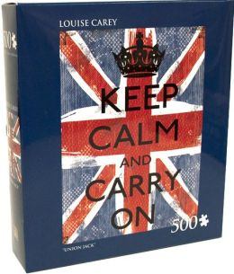 500 Piece Puzzle, Union Jack, Louise Carey