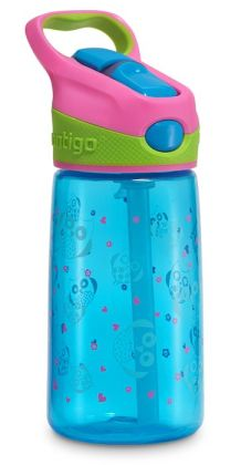 Hooty Owl Auto Spout BPA Free Water Bottle