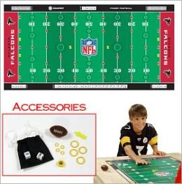 NFL Licensed Finger FootballT Game Mat - Falcons