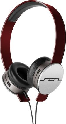 Sol Republic Tracks HD On-Ear Headphones - Red