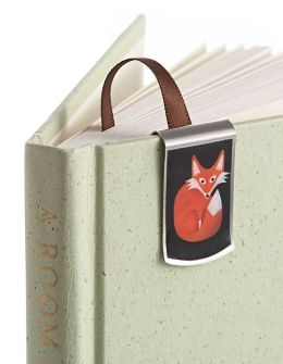 Bookjig Fox Metal Bookmark