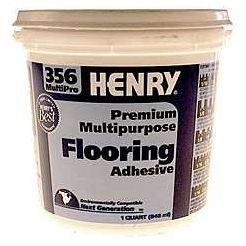 Cronin Company 1 Gallon Multipurpose Floor Covering Adhesive HY356C1G - Pack of 4