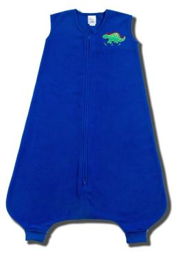 Halo SleepSack big Kids wearable blanket, 100% polyester microfleece, size 2/3T, royal blue